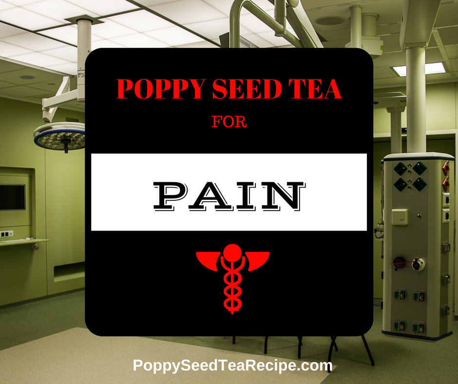 Poppy Seed Tea For Pain This Herbal Tea Changes Lives