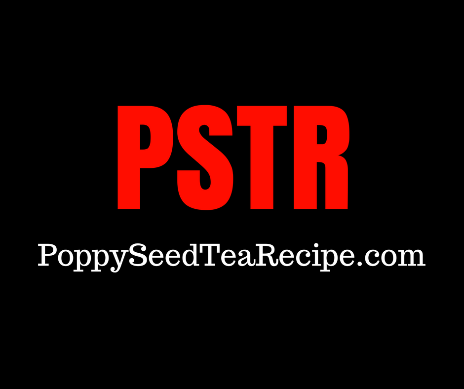 Poppy Seed Tea Recipe