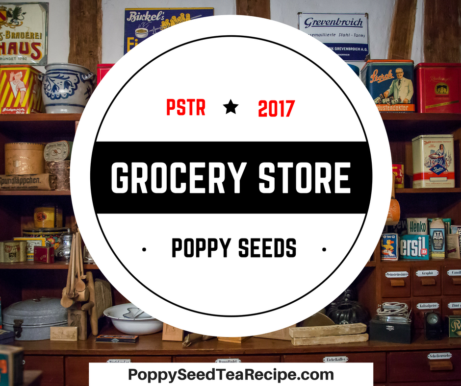 Grocery Store Poppy Seeds: Find Unwashed Poppy Seeds